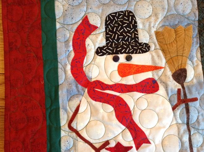 C & J snowman